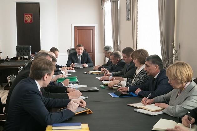 Андрей Бочаров озадачил чиновников развитием культуры в регионе