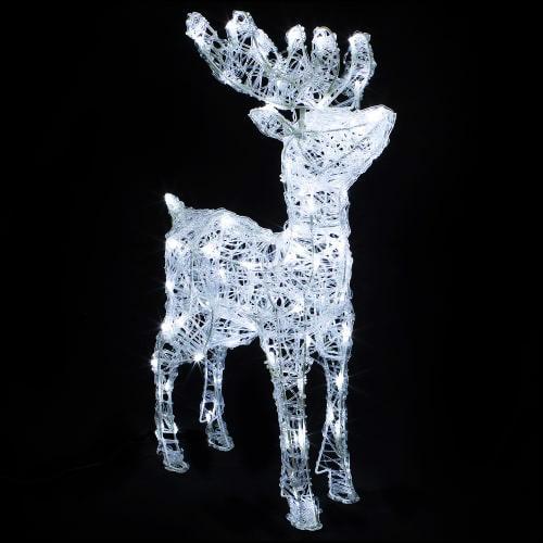 Объявлено вознаграждение: под Волгоградом ищут светодиодного оленя