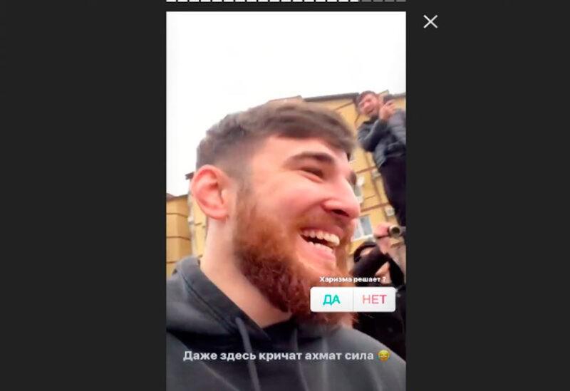 «Уважаемый человек». Сын зампреда Чечни разбросал деньги над толпой волгоградцев