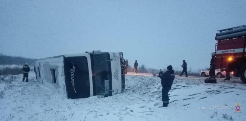 МВД опубликовало подробности ДТП с автобусом «Саратов-Пятигорск»