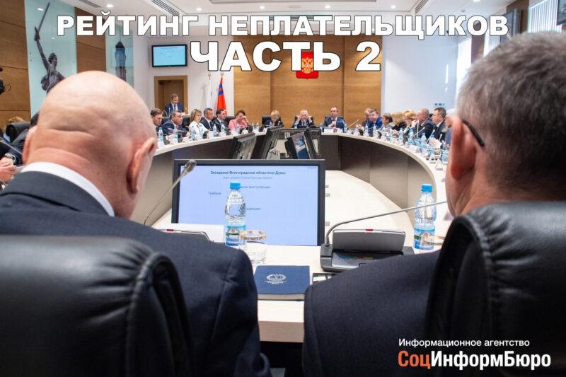 «Рейтинг депутатов-неплательщиков. Часть 2»: 200 тысяч не деньги