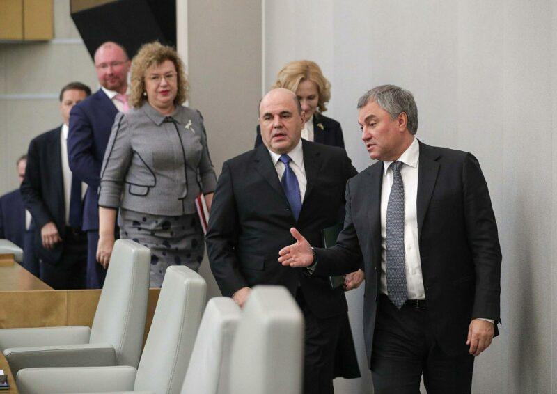 Володин предложил депутатам помочь Волгоградской области с демографией