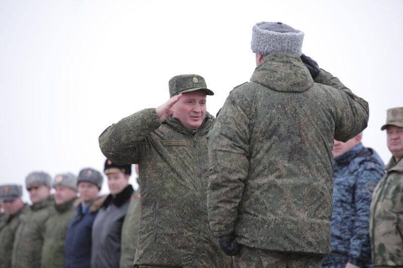 Руководство Волгоградской области оценило боеготовность военных, полицейских и силовиков
