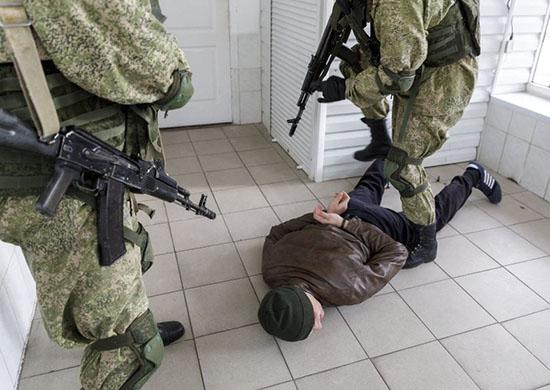 Под Волгоградом уничтожили 10 условных «боевиков»
