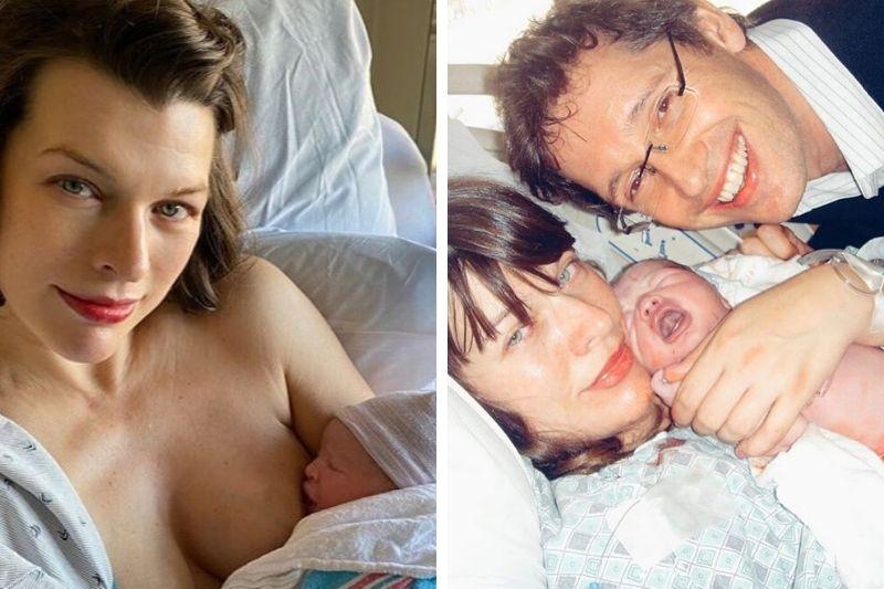 44-летняя Милла Йовович раскрыла секреты болезни новорожденной дочки
