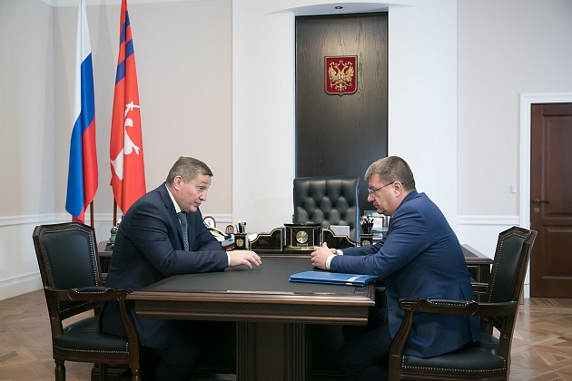 Андрей Бочаров поднял вопросы образования в регионе
