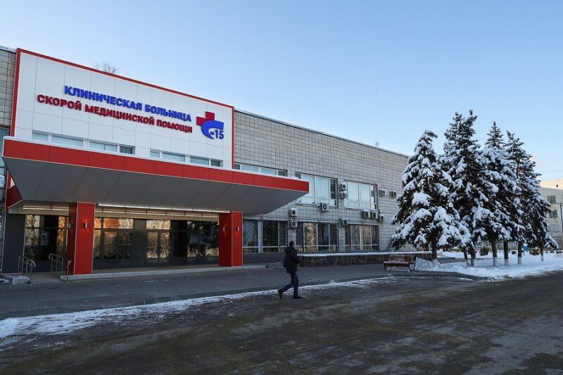 Андрей Бочаров назвал дату, когда завершится модернизация 15-й больницы