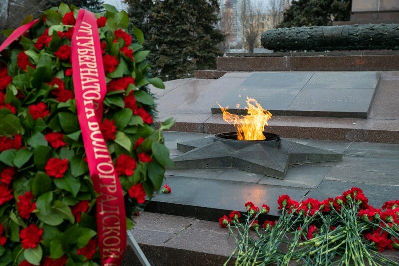 В Волгограде празднуют День защитника Отечества