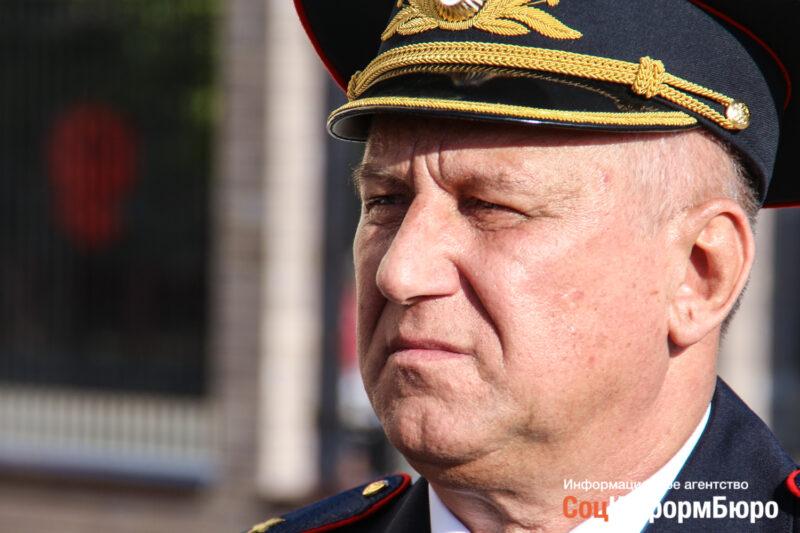 Начальнику ГУ МВД России по Волгоградской области исполнилось 62 года