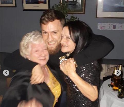 Тетя Конора Макгрегора умерла от COVID-2019