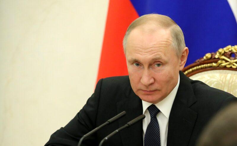 Владимир Путин обратится к россиянам из-за коронавируса