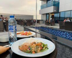 Ужин в Дубае во время карантина