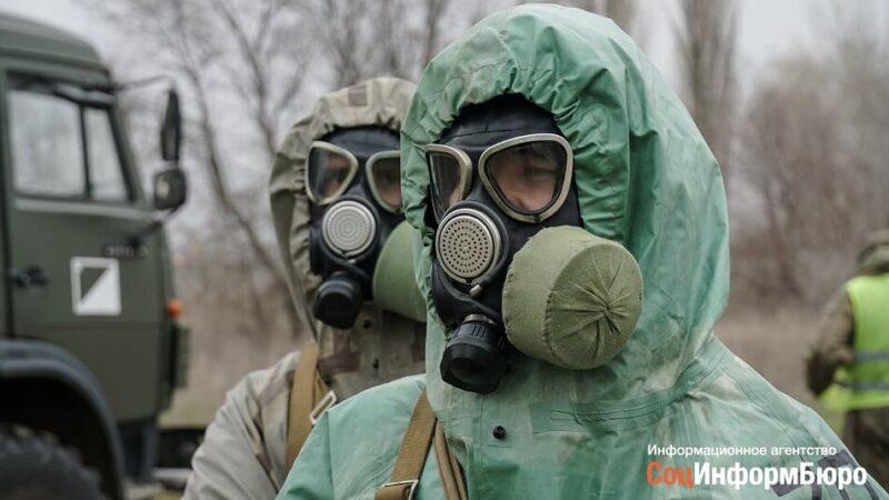 Под Волгоградом военные отрепетировали действия при угрозе распространения вирусной инфекции
