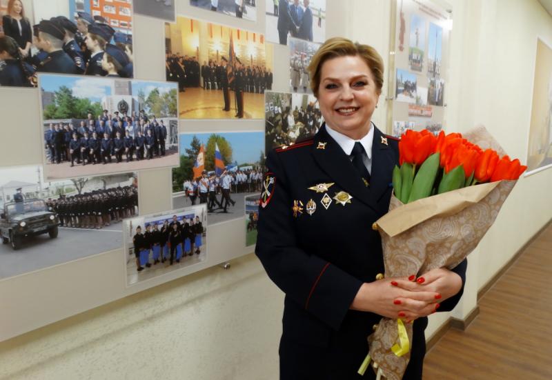 Волгоградская женщина-полицейский стала Женщиной Года