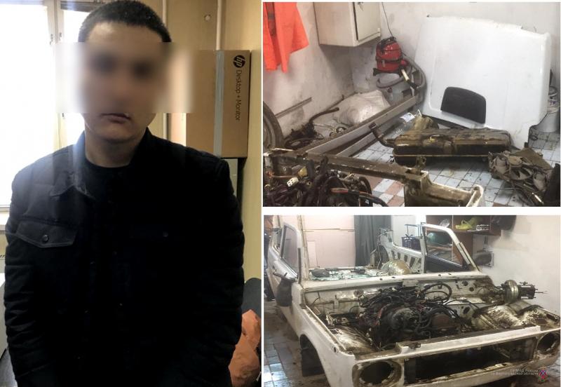 Автомобильный «клептоман» задержан в Волгограде