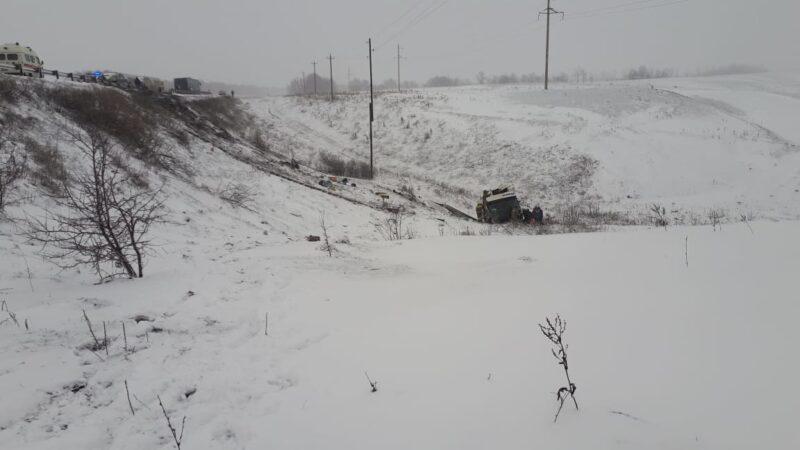Из Волгограда направили помощь пострадавшим в ДТП под Тамбовом