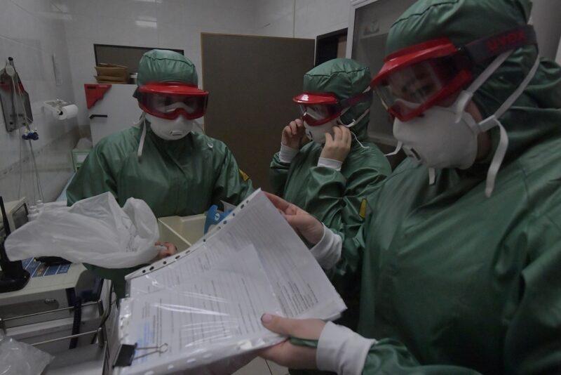 Оперштаб озвучил статистку по заболевшим коронавирусной инфекцией на 8 апреля 2020 г
