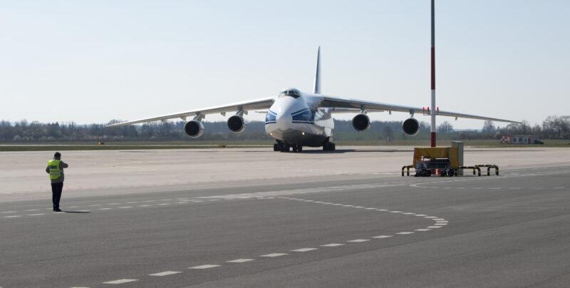 Самолёт с российскими медикаментами приземлился в США