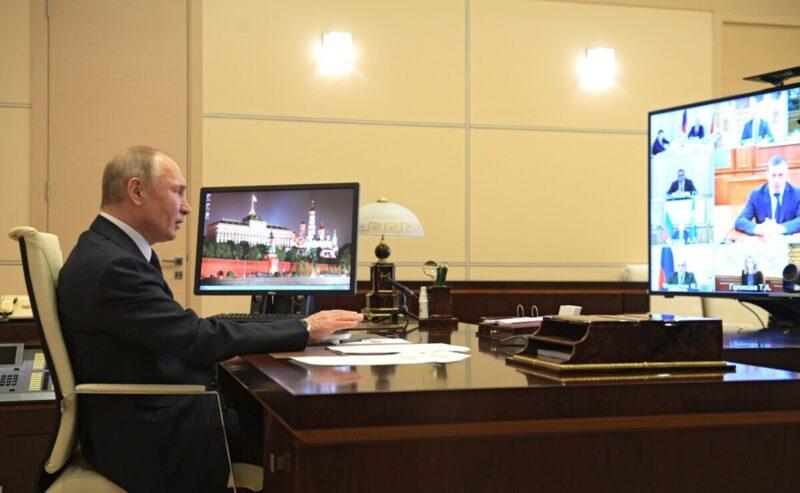 Путин проведет онлайн-совещание с правительством РФ о ситуации с COVID-19 в регионах