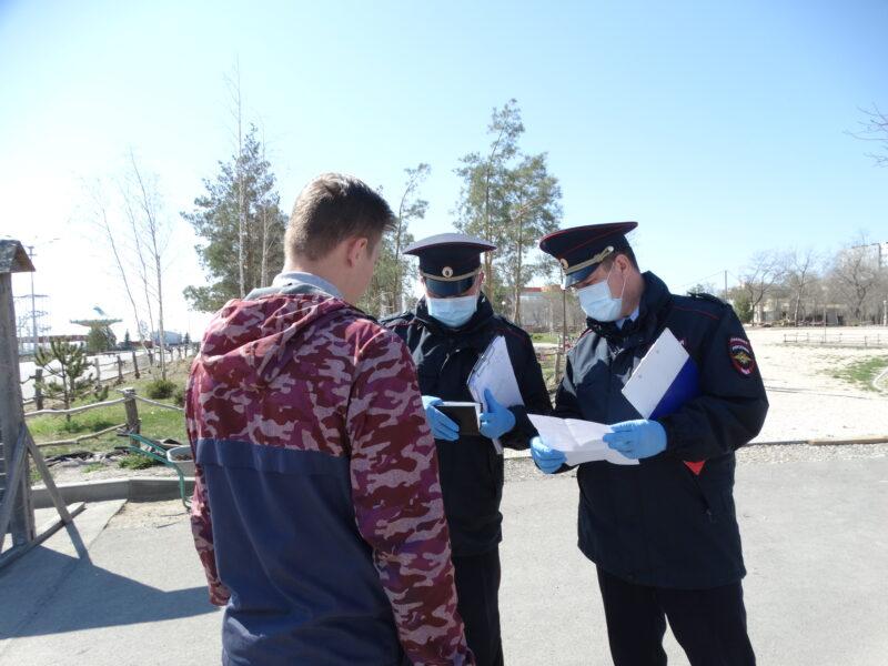 За три дня в Волгоградской области к ответственности привлекли 69 нарушителей самоизоляции