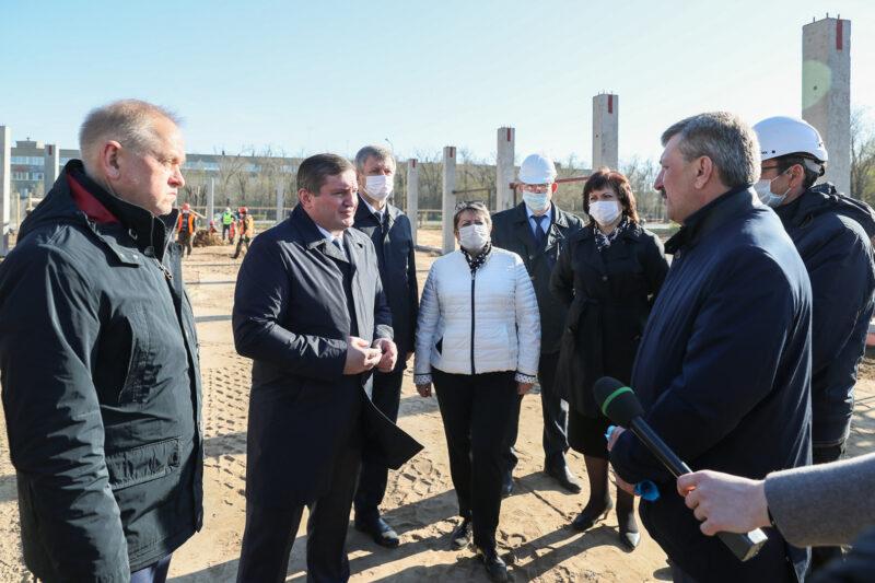 Бочаров о новой инфекционке в Волжском: «Эта клиника будет востребована»