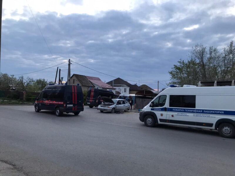"""СКР назвал """"хлопок"""" на улице Хорошева покушением на убийство бывшего сотрудника МВД"""