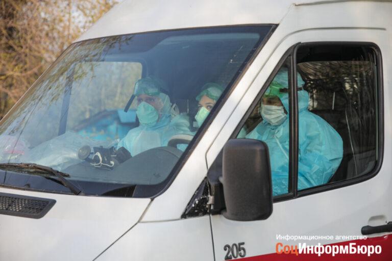 На спад идет число новых больных  COVID-19 в Волгоградской области