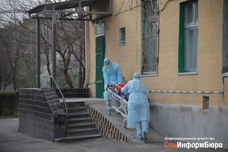 Уже 474: больницы Волгограда пополняются зараженными COVID