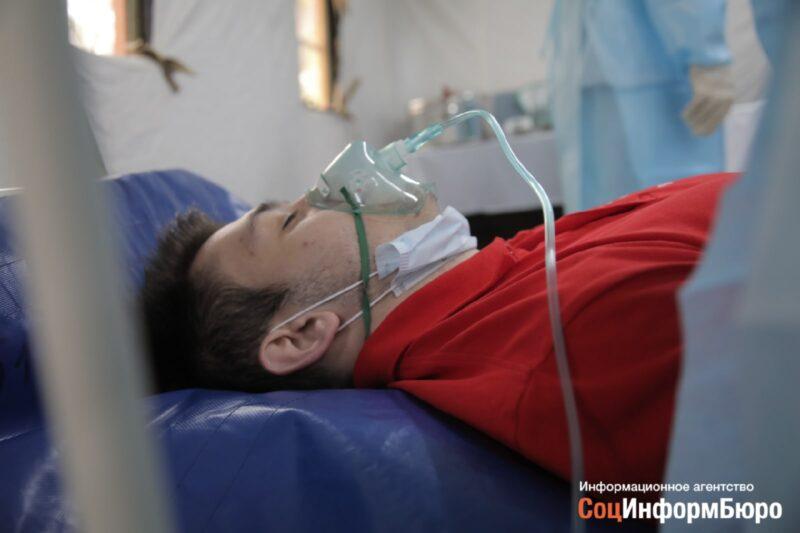 Число больных коронавирусом в Волгоградской области превысило сотню