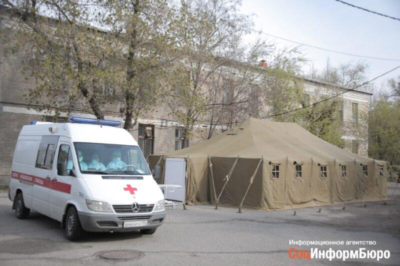 На весь Волгоград оставили 6 машин скорой помощи для пациентов с температурой