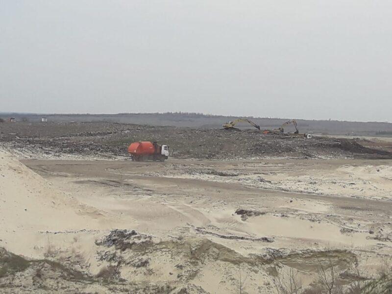 1,5 миллиона тонн мусора: в Камышине ликвидируют старую свалку