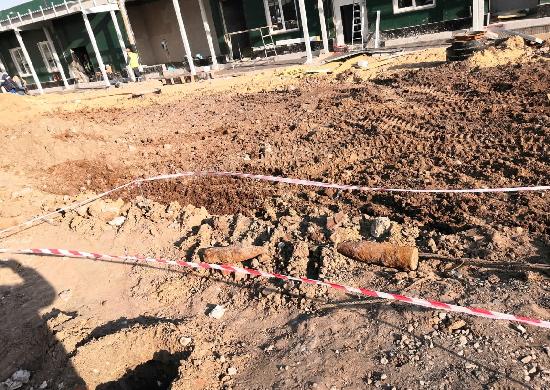 Опасную находку обнаружили в Волгограде при строительстве госпиталя