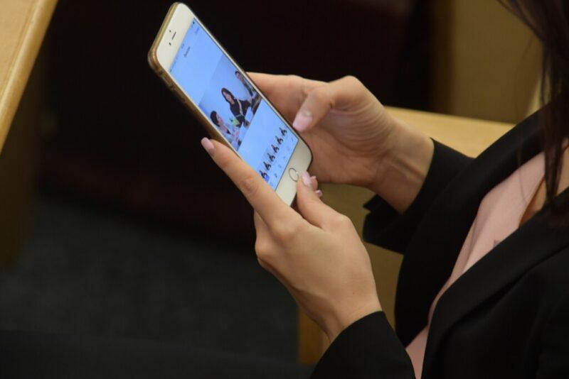 Волгоградка ответила в суде за оскорбления по СМС