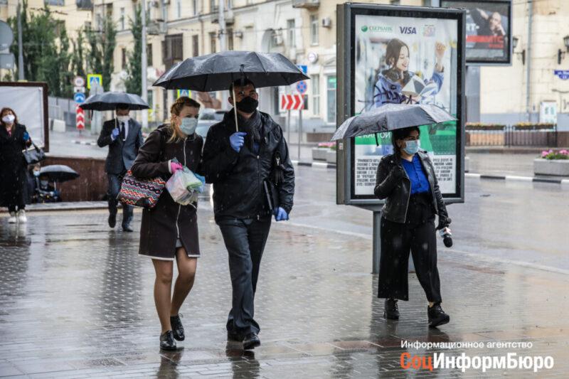 На Волгоград обрушится первая летняя гроза