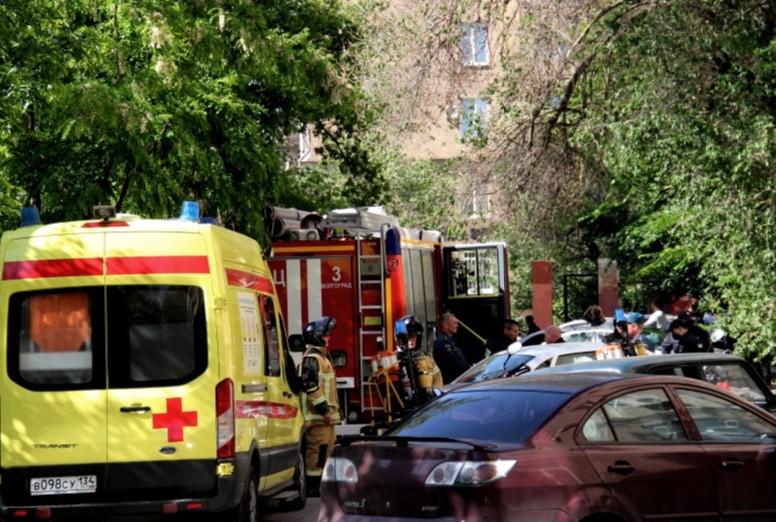 В Волгограде эвакуировали жильцов дома на улице Советской