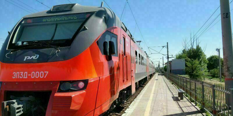 Опубликован новый график волгоградских пригородных поездов