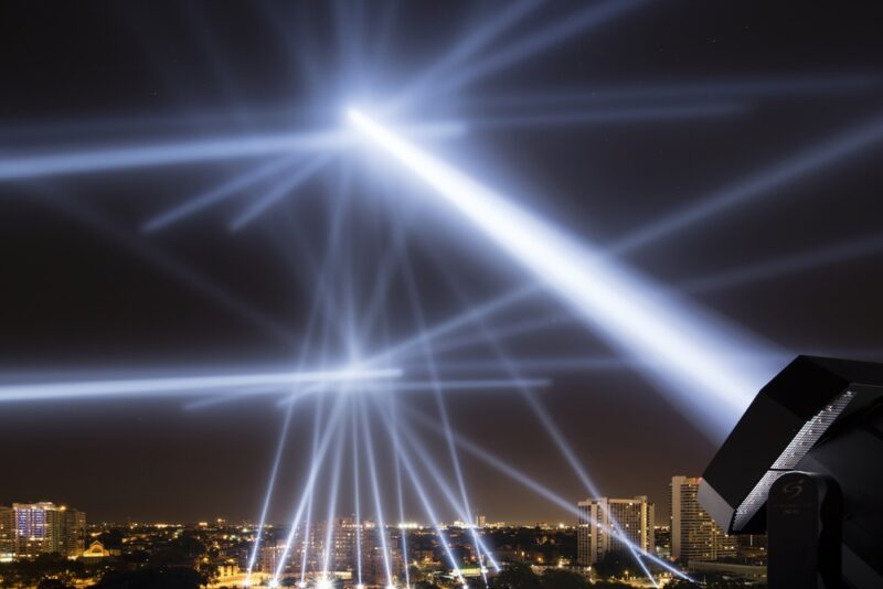 Жителям Волжского 22 мая покажут световое шоу