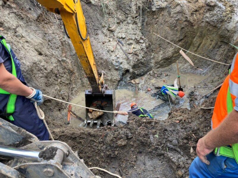 Концессии отчитались по ремонту порыва, из-за которого несколько районов Волгограда остались без воды