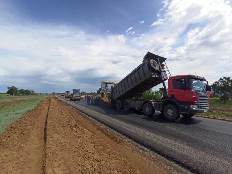 Впервые за несколько десятилетий ремонтируется трасса «Самара — Волгоград»