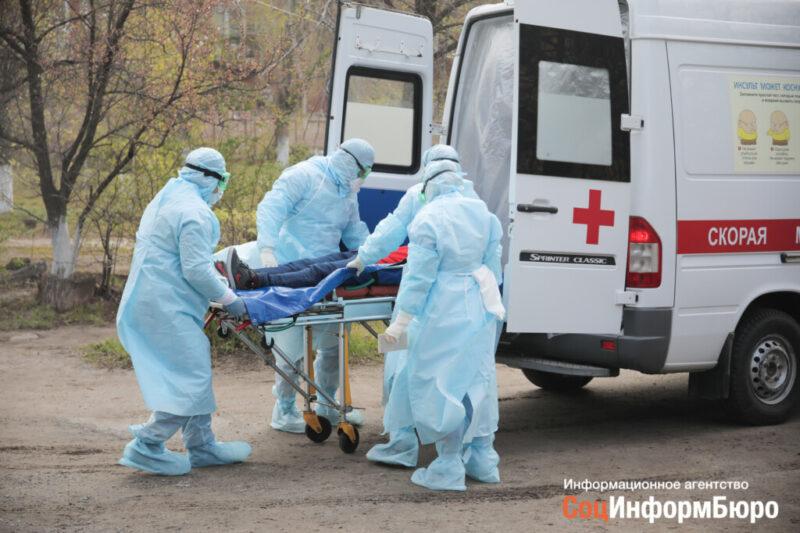 За минувшие сутки в Волгоградской области никто не умер из-за COVID-19