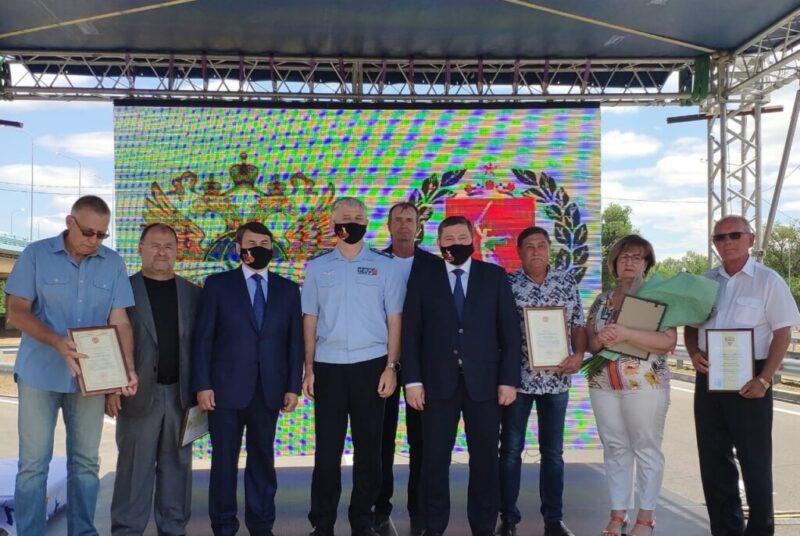 В Волгограде открыли движение по новому мосту через Ахтубу