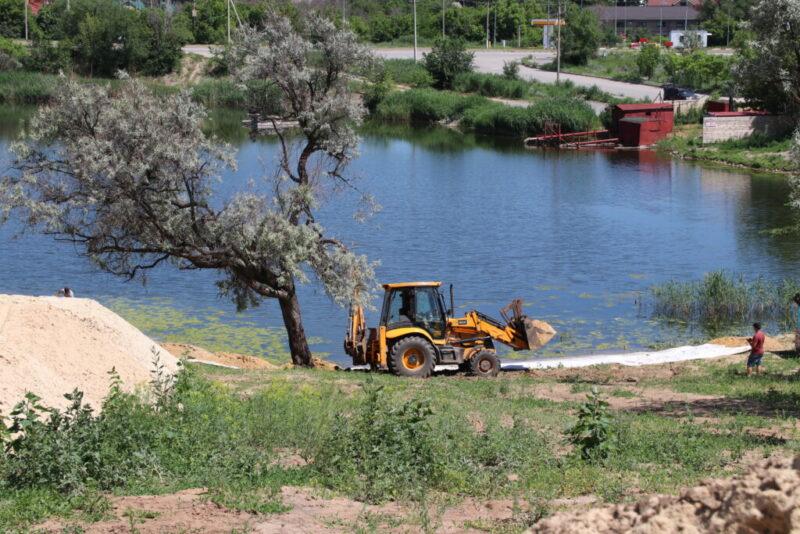 В Волгограде появится бесплатный эко-парк с пляжем на пруду
