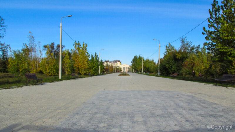 В Волгограде реконструируют парк Гагарина