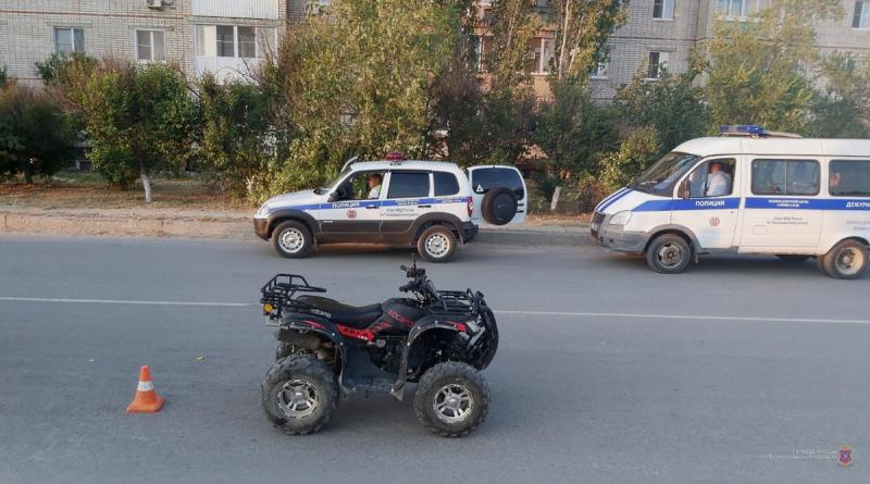 «От медосвидетельствования отказалась»: под Волгоградом две женщины опрокинулись на квадроцикле