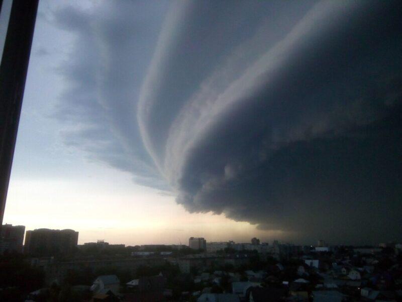 На Волгоградскую область надвигается буря