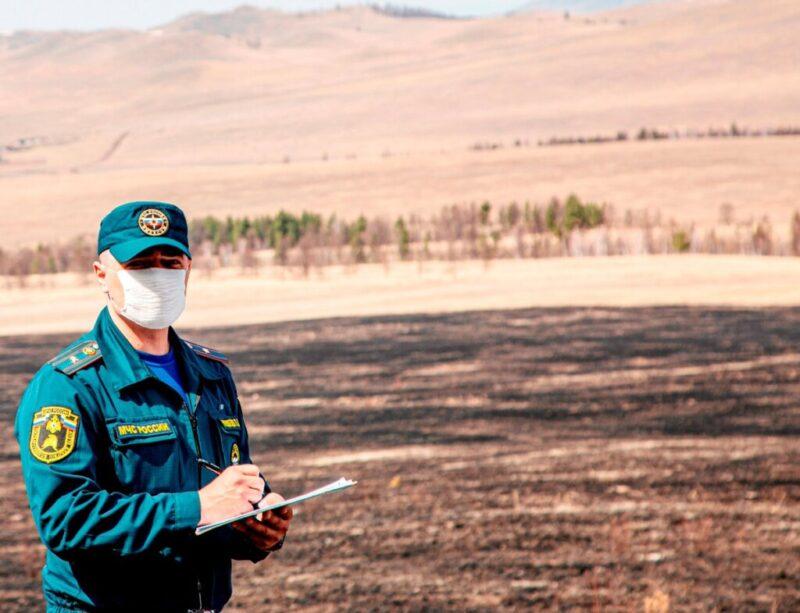 Чрезвычайная пожароопасность угрожает Волгоградской области