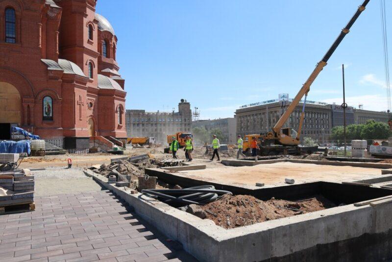 К собору Александра Невского будут вести 12 лестниц