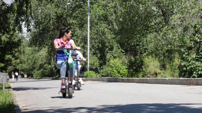 ГИБДД Волгограда предупредило велосипедистов об опасности