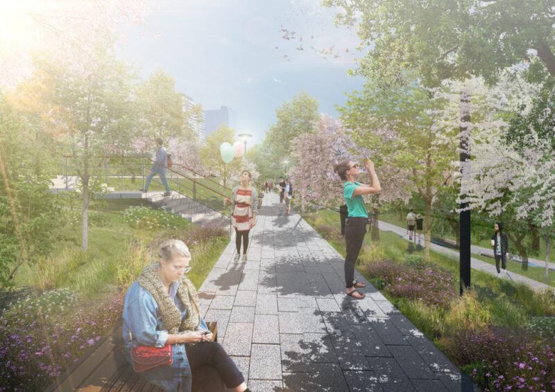 Фруктово-ягодные сады обещают высадить в центре Волгограда