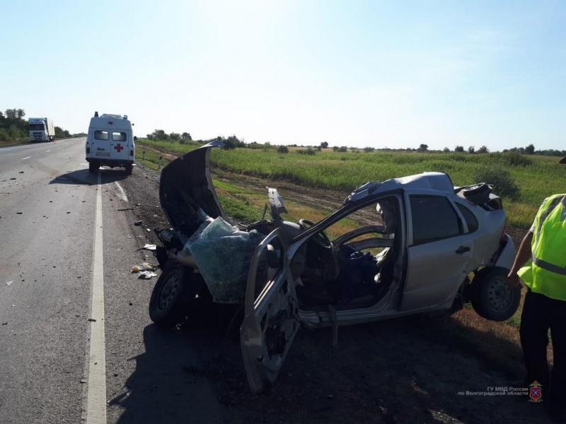 МВД опубликовало снимок жуткой аварии на трассе «Волгоград-Каменск-Шахтинский»